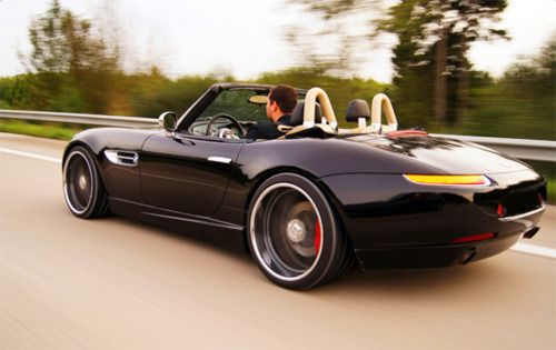 """Z8    Imagine a Z3 with a V-8 , """" squirrley """""""