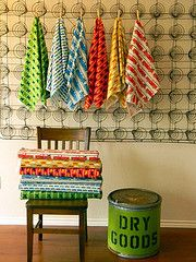 PoochesPickups-- Laurie Wisbrun fabrics, and I'm loving the use of the old box spring...