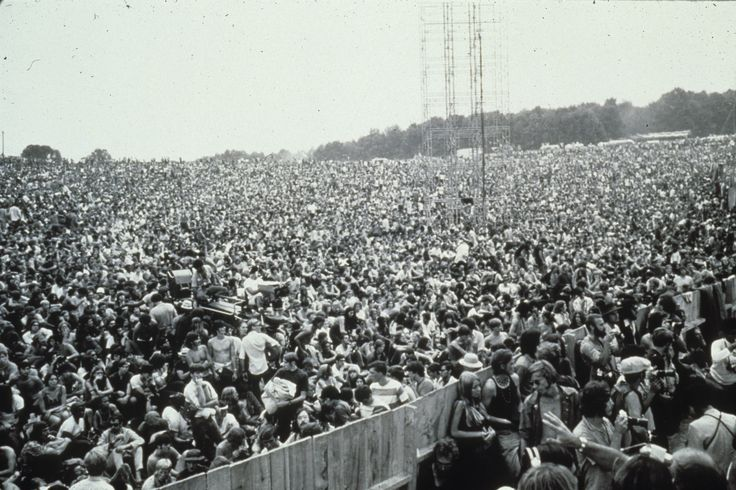 A history of the music festival woodstock