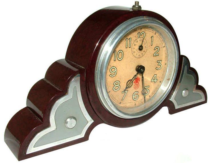 1930s Art Deco clock.