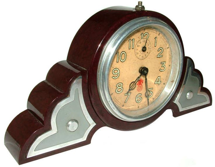 Original 1930s Art Deco Clock