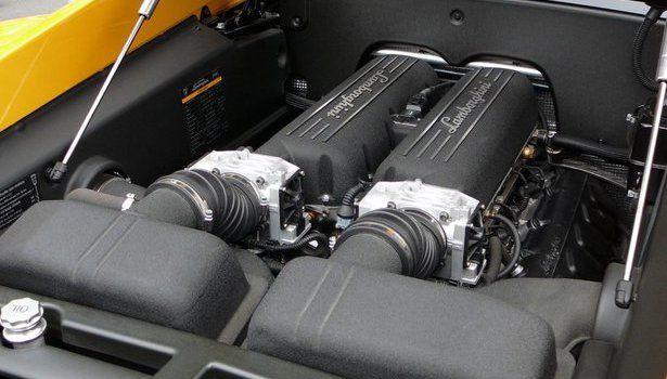 2017 Lamborghini Gallardo - engine