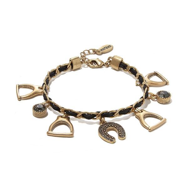 bransoletki Złociste Strzemię biżuteria artystyczna