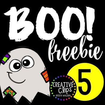 WEEK 5 of my BOO FREEBIE SERIES! This is the final week of my freebie series- thank you for leaving feedback and earning freebies all through October!Although there isn't a feedback challenge this week, I would appreciate that you still leave feedback if you download this freebie!