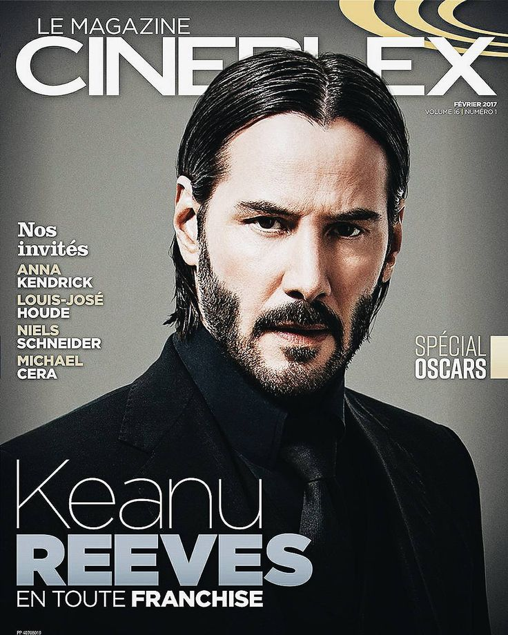keanu in cineplex magazine for john wick:chapter two #keanureeves #cineplexmagazine