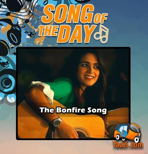 *Song Of The Day* #TheBonFireSong is topping the Daily Charts on Taazi:http://taazi.com/bonfire-song-2015-by-aima-baig #7UpWinters #BonFire