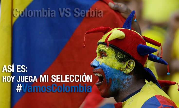 Todo porque hoy juega Colombia. Detalles en www.noticiascaracol.com