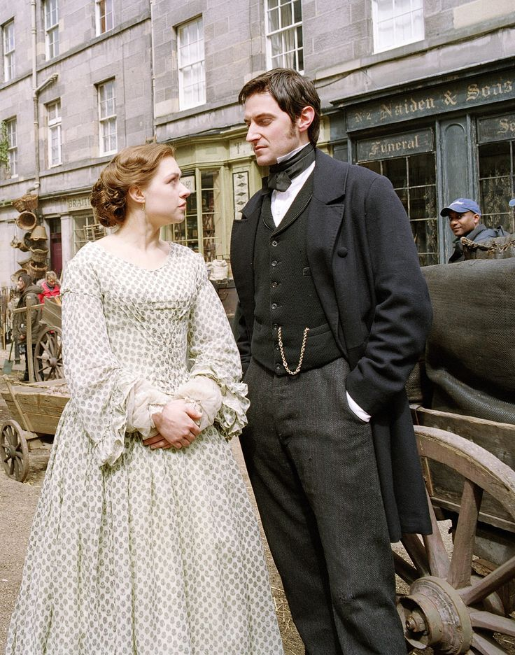 Daniela Denby and Richard Armitage in TV s North and South""