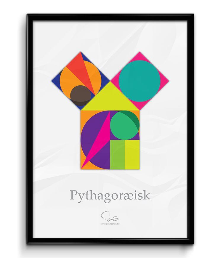 Pythagoræisk ( A2 42x59,40 Cm )