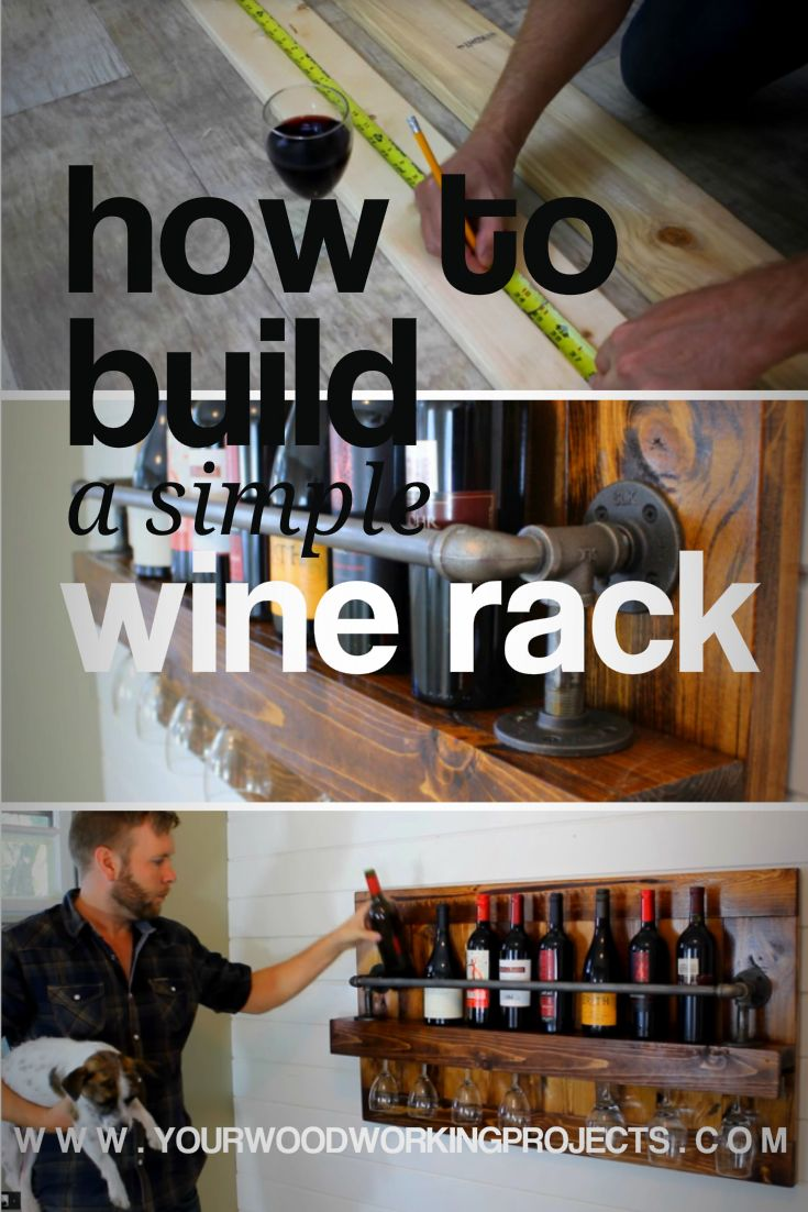 Check out this amazing guide to build a simple wine rack... An idea like this can be made in so many different styles but here in this article we break it down in a simple and easy to follow guide.