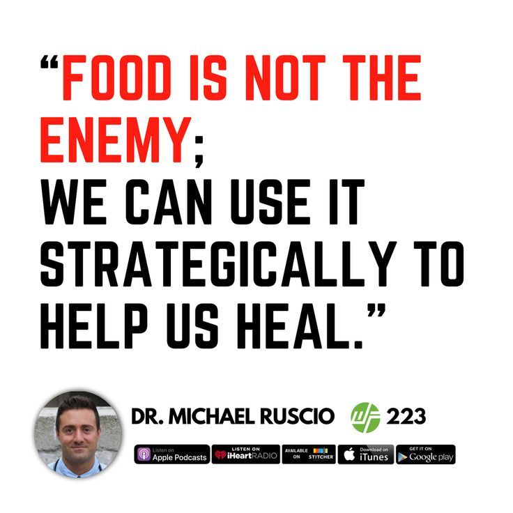 Healing The Second Brain: Dr. Michael Ruscio | Healing ...