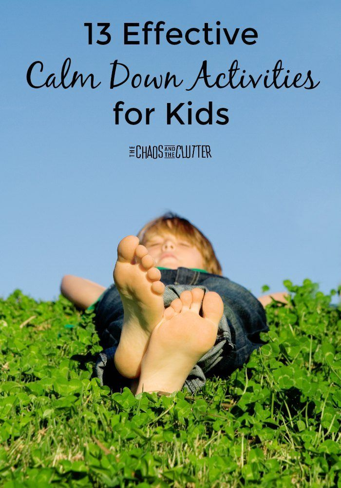 Calming Activities for Kids | Special Needs - ADHD, Dyslexia