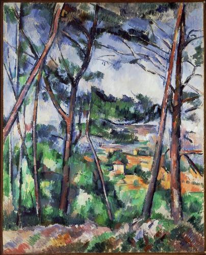 66.4; Cézanne, Paul; Landscape Near Aix, The Plain of the Arc River, 1892-1895