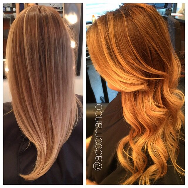 Balayage. Ombre. Hair by Lindsay Accomando from Rock/