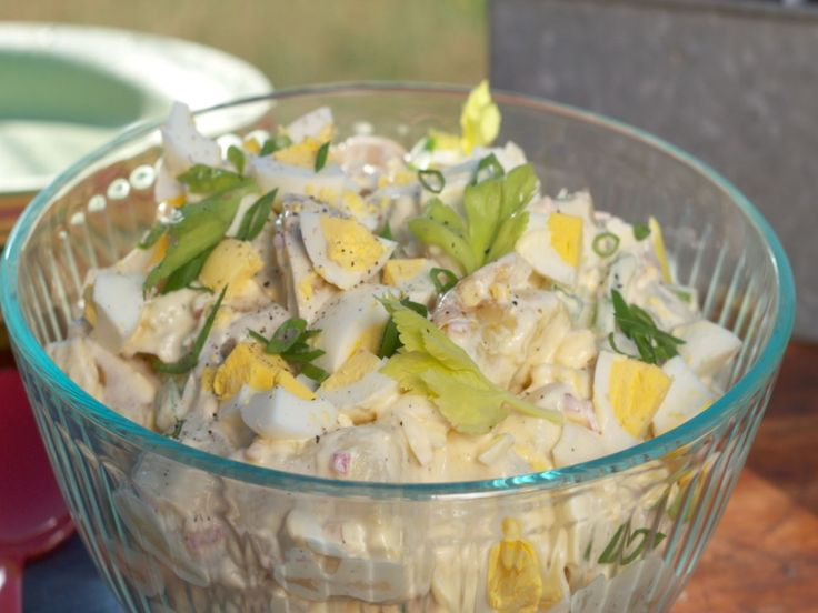 Creamy Potato Salad recipe from Nancy Fuller via Food Network