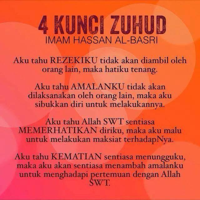 4 Kunci Zuhud