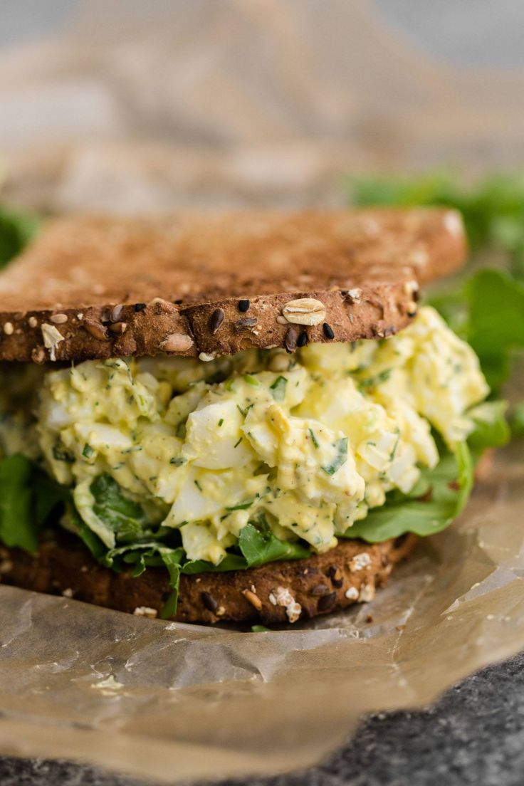 Egg Salad Sandwich | Recipe | Egg Salad Sandwiches, Salad Sandwich and ...