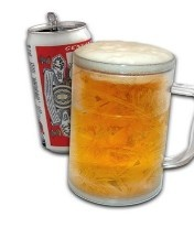 İşte karşınızda mevsimin hit ürünü… Donan Kupa… Canınız soğuk bir şeyler içmek istediğinde..kola, bira, gazoz... Koyun Buzlu Kupaya ve uzun süre soğuk kalsın. Frosty Ice Tankard Donan Kupa ile buzların eriyip su olması derdi yok, ayrıca uzun süre soğuklunu da koruyacaktır. Şok İndirim!