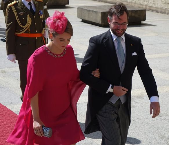Members of Luxembourg's royal family celebrated their country's national holiday today in a slightly lower key way than in years past (fewer family members in attendance and no hats wor…