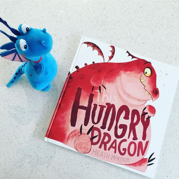 This Hungry Dragon by Heath McKenzie... my little 3 year old man is totally smitten with this Christmas present from Santa. Definitely a must-read for little dragon lovers. A fabulous sequential tale (with a happy ending!) #kidsbooks #mustread #earlylearning #igkids #kidstagram #kids #childhoodunplugged