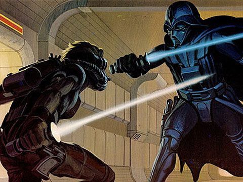 Star Wars concept paintings by Ralph McQuarrie