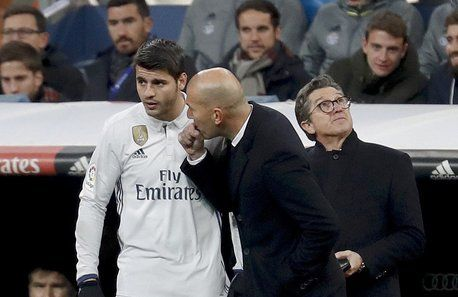 [Cadena SER] Álvaro Morata wants to leave Real Madrid as he feels he's been deceived by Zinedine Zidane in regards to playing time.