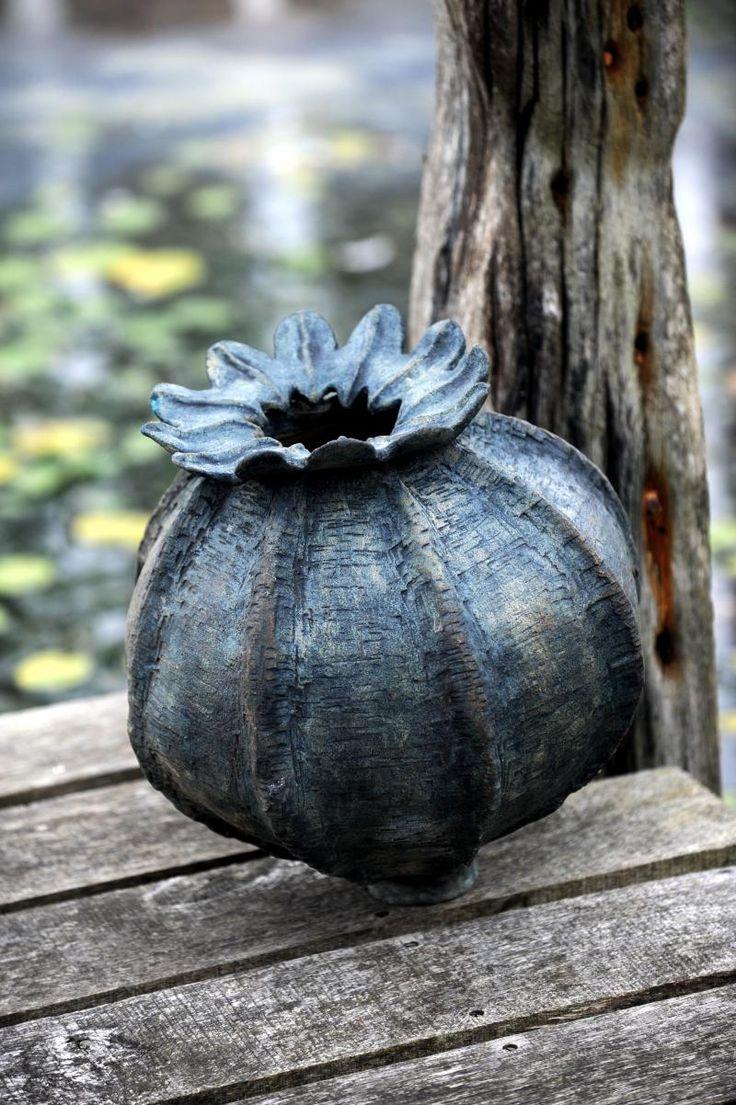 Stoneware seed head. £350.00