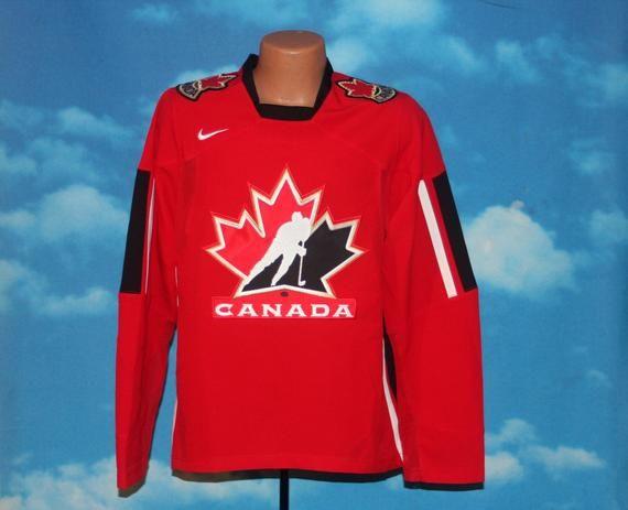 Team Canada Iihf Nike Olympic Hockey Jersey Small Olympic Hockey Team Canada Hockey Jersey