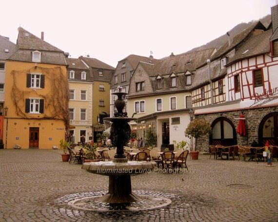 Bernkastel Kues, Germany - Beautiful little village in the wine country along the Mosel River.