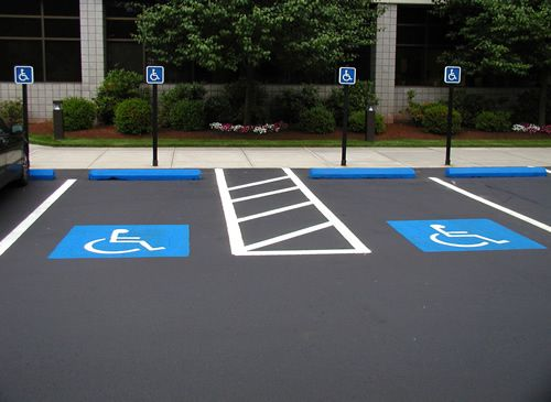 parking line painting machine