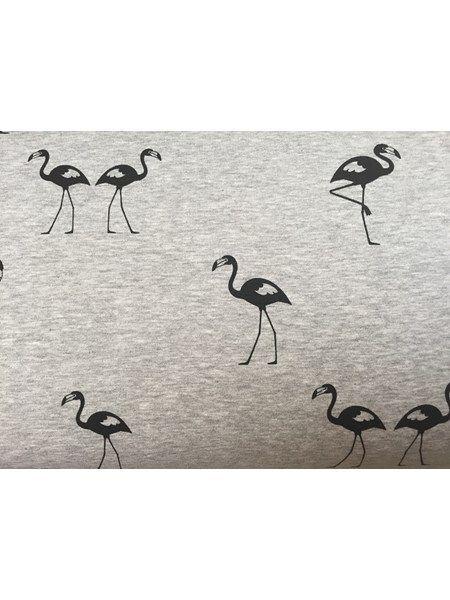 Isoli - lys gråmeleret med flamingo
