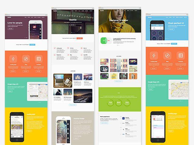 Bootstrapで行こう!すごい無料HTMLテンプレート24個まとめ 2014年12月度