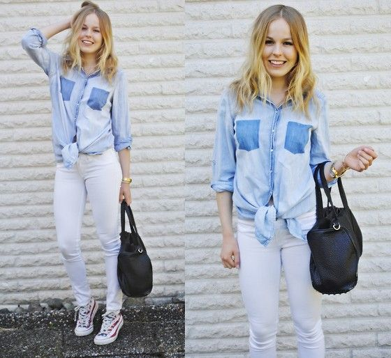 LIGHT DENIM (by Frida Johnson) http://lookbook.nu/look/3461621-LIGHT-DENIM
