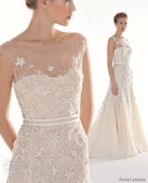 peter robes de mariée Couture Langner