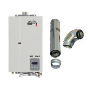 EZ Tankless Deluxe on Demand 4.4 GPM 85,000 BTU Propane Gas Tankless Water Heater EZDLXLPG at The Home Depot - Mobile