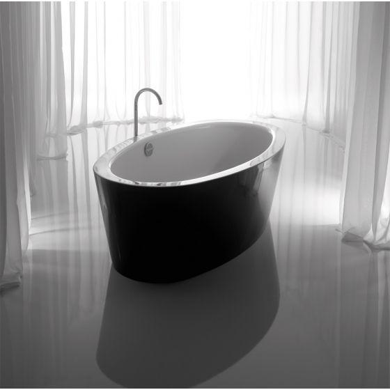 Baignoire acier design HOME Oval Silhouette En acier émaillé, un confort parfait