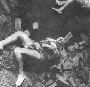 Decomposed body of Doctor Fazle Rabbi, an eminent physician, at Rayer Bazar