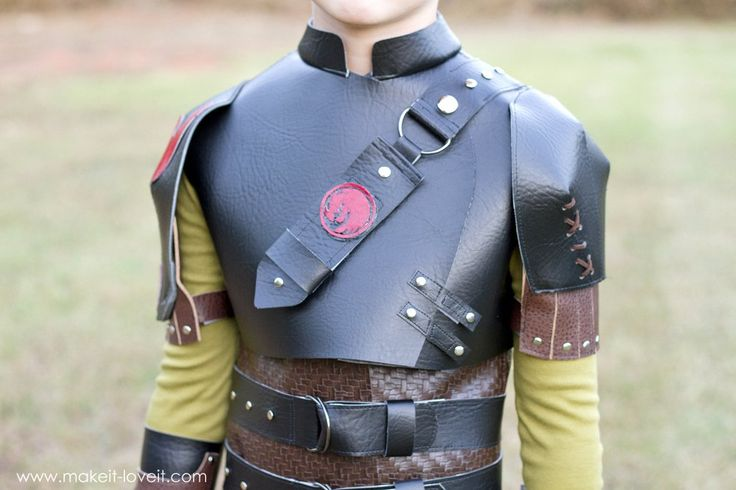 "DIY Hiccup Costume...from ""How To Train Your Dragon 2"""