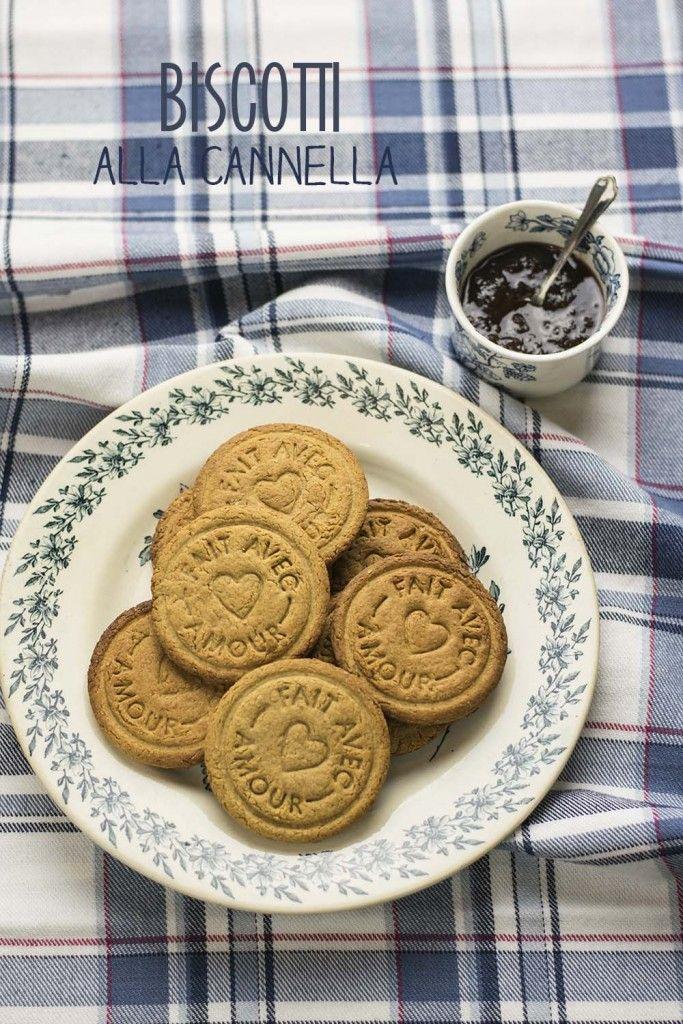 Biscotti integrali alla cannella (veg!)