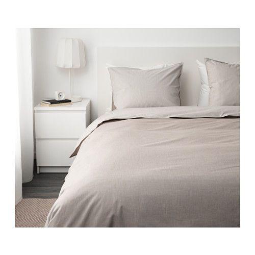 BLÅVINDA Housse de couette et 2 taies - 240x220/65x65 cm - IKEA