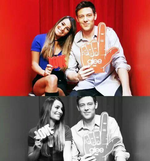 Lea  Cory ❤ Glee season 5 photoshoot
