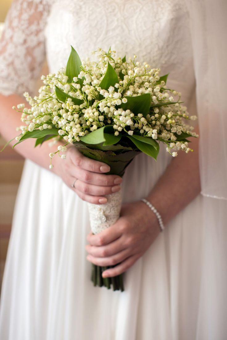#weddingbouquet #lilyofthevalley #simpleelegantbouquet