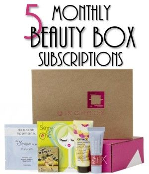 Need a great last minute Mother's Day gift idea?? Any mom would LOVE to receive a beauty box subscription!
