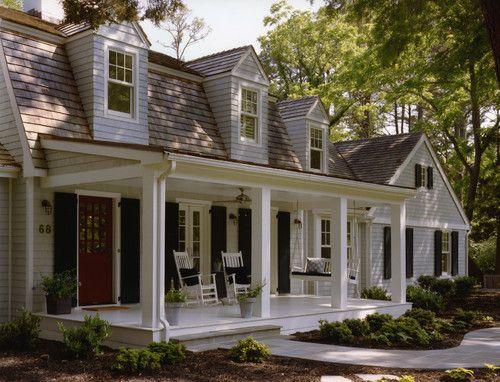 Clean, classic design. Love the large porch (Barnes Vanze Architects, DC)