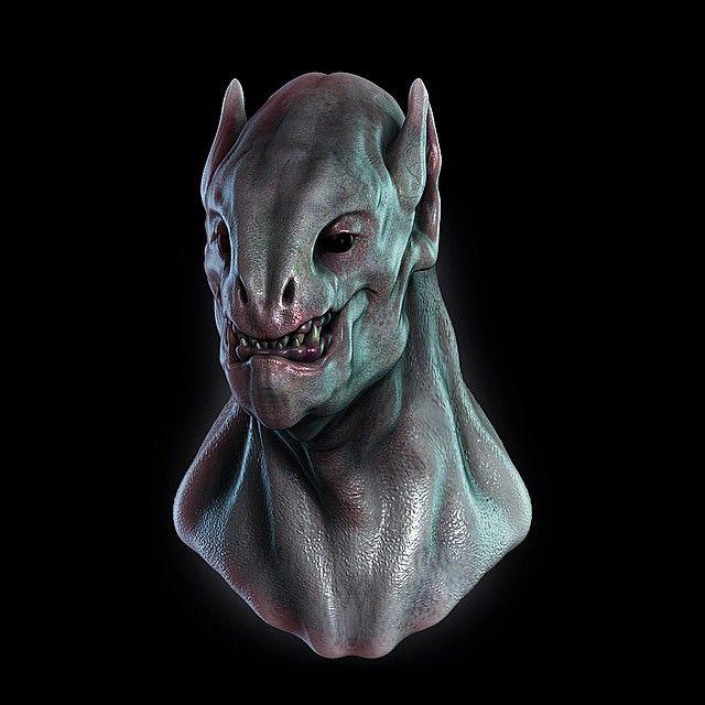 #zbrush #cgi #3D #sculpt #cinema4d #design #gamingdesign #game #art #character #characterdesign #creature #orc #goblin #media #dynamesh #retopology #ao #render #gi #polygon #3dmodel #3dprinting #print #fantasy #work #sculpting #alphabrush by brusher105