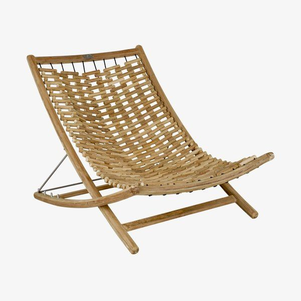 Brilliant Bay Isle Home Karly Reclining Teak Chaise Lounge In 2019 Cjindustries Chair Design For Home Cjindustriesco