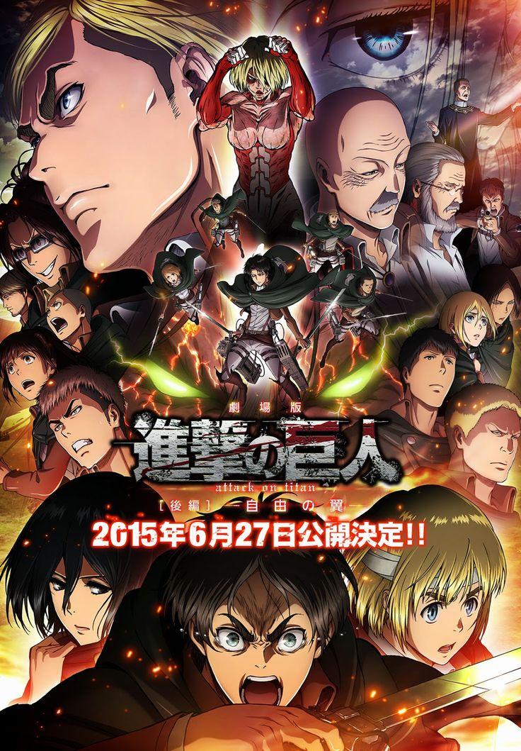 La segunda película recopilatoria de Shingeki no Kyojin conectará con su segunda temporada.