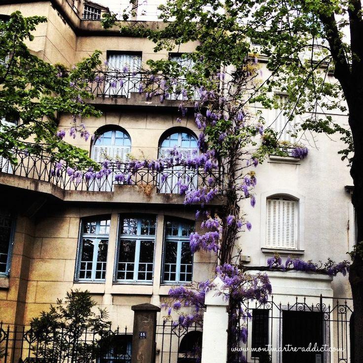 Un printemps à Montmartre : avenue Junot