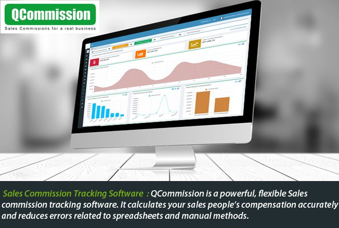 QCommission is a powerful, flexible sales commission software We