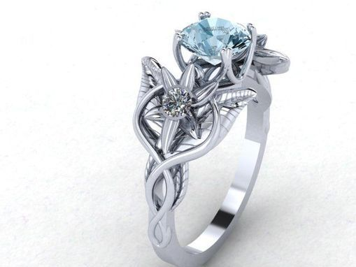 Custom Made Lord Of The Rings Inspired Evenstar Ring